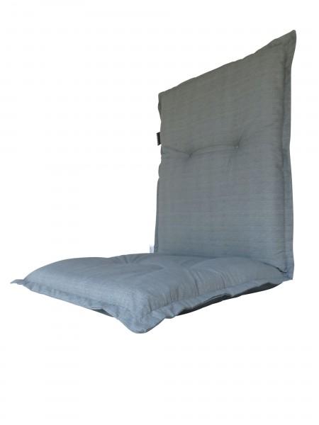 A046 Niederlehner Gartenstuhl Auflagen 105x50x8cm grau uni