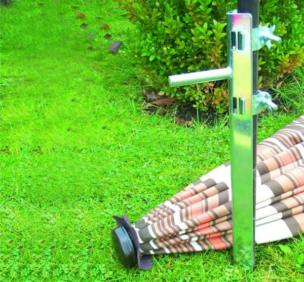 Rasendorn Rasenspieß Hülse für Sonnenschirme 450775