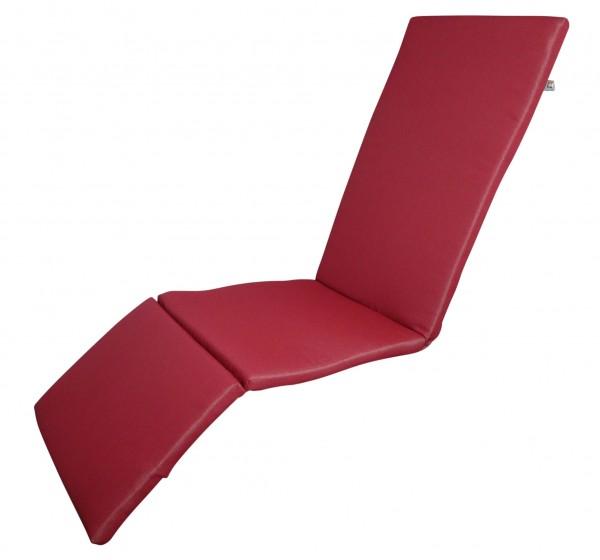 16-8882 Relaxliegenauflage Liege Relaxsessel Auflage Kissen rot