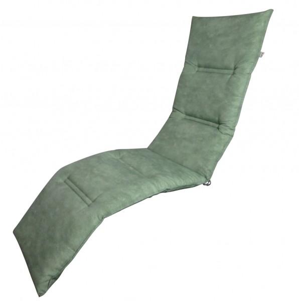 16-8894 Relaxliegenauflage Liege Relaxsessel Auflage Kissen grün