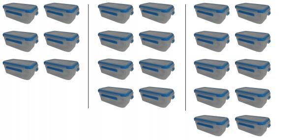 KLIPFRESH Frischhaltedosen Set Gefrierdosen BPA frei