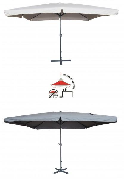 MERCATO XXL Sonnenschirm 400x400cm Gastronomie geeignet