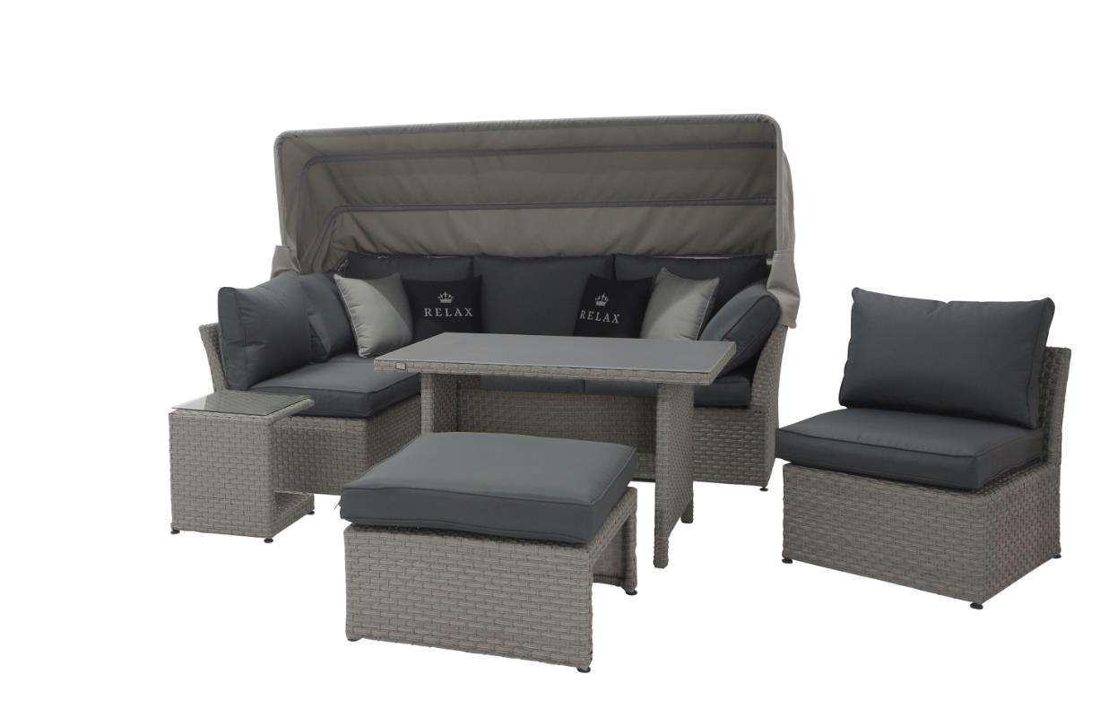 gartenmobel polyrattan grau innenarchitektur und m belideen. Black Bedroom Furniture Sets. Home Design Ideas
