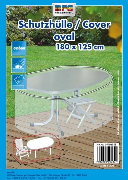 Schutzhülle für Gartentische 180x125x70cm