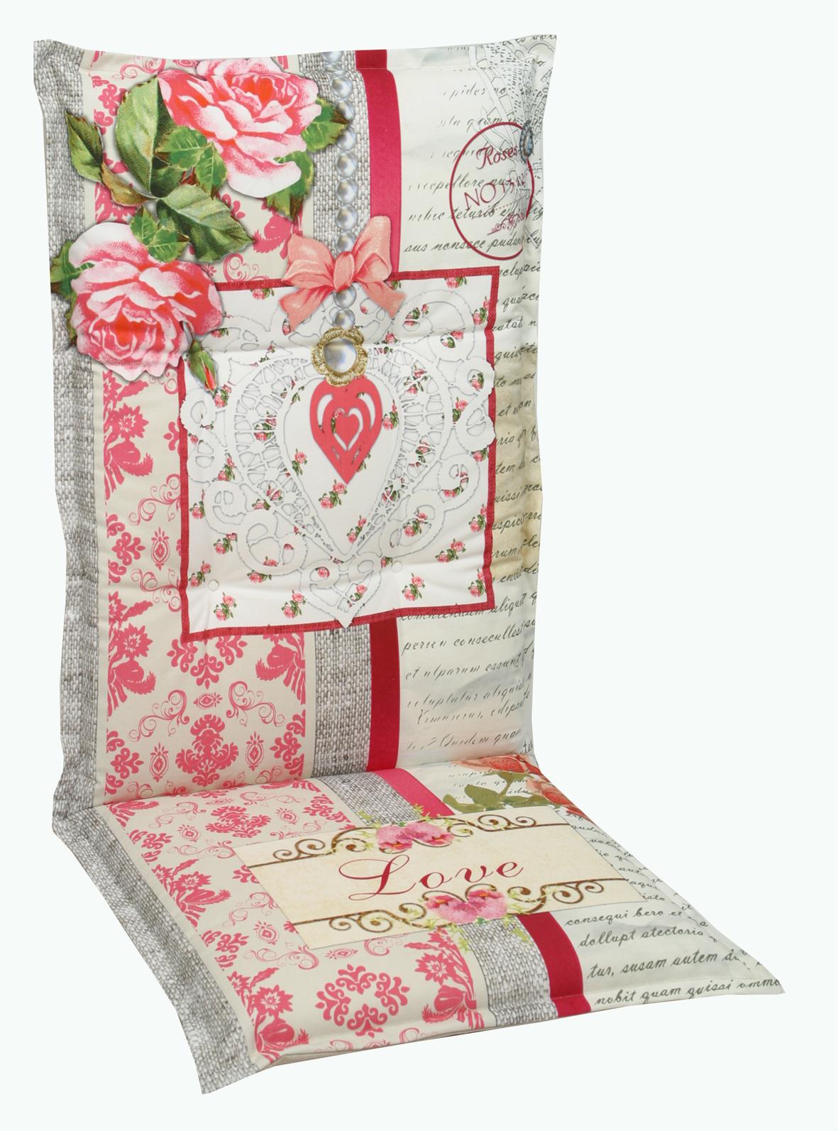 2915 hochlehner gartenstuhl auflagen 120x50x8cm natur f r st hle mit hoher lehne auflagen. Black Bedroom Furniture Sets. Home Design Ideas