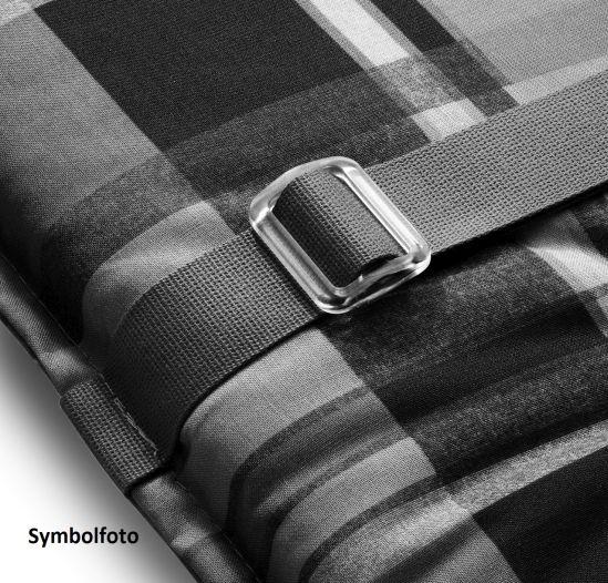 hochlehner gartenstuhl auflagen 116x46x4cm rei verschluss auflagen polster garten. Black Bedroom Furniture Sets. Home Design Ideas
