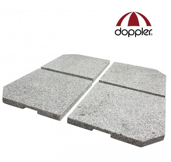 4er-Set Granit Beschwerer Gewichte für Schirmständer