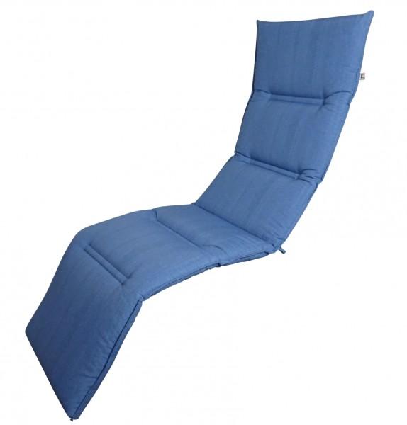 16-8872 Relaxliegenauflage Liege Relaxsessel Auflage Kissen blau